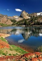 Lake Blanche Utah No Polarizer by houstonryan