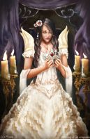 Making of an Empress (Book Cover) by Jackiefelixart