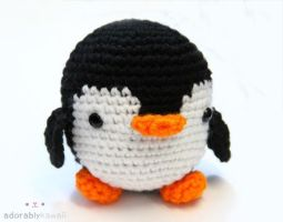 Penguin Amigurumi by adorablykawaii