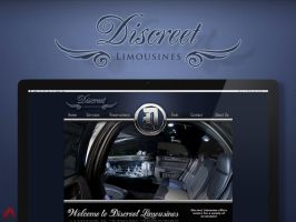 Discreet Limousine Final Web Layout by MrRedHot