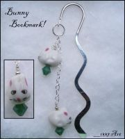Bunny Bookmark by 1337-Art