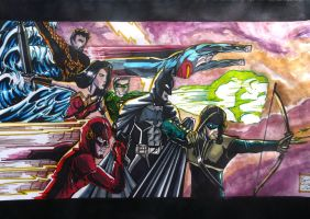 The Justice League Movie by samrogers