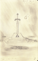 The Master Sword by TMcIsrael