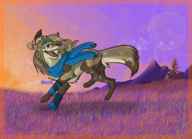SunRise_at CherryMoon_+. by ThechnoHusky92