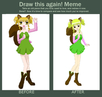 Beryl Before And After by Mecquita