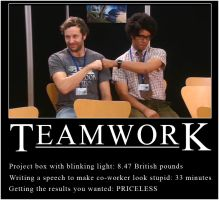 IT Crowd - Teamwork by surlana