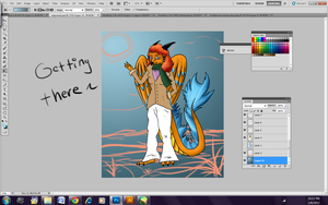 WIP New Sona 2 by FeatheredSoap