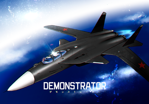 Demonstrator by PKD-airline
