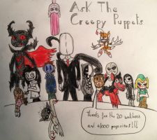 Ask The Creepy Puppets by Baka2niisan