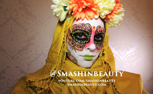 Venetian  Mask Makeup Venice Mask by smashinbeauty