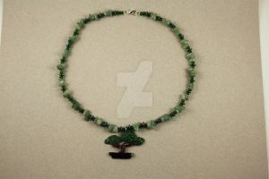 Bonsai Tree Princess Choker Length Necklace by BeautifulEarthStudio