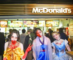 Undead Disney at McDonald's by UndeadCosplay