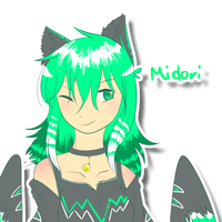 Midori as human by Crystal-Caie