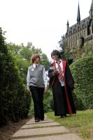 A Walk on School Grounds by UnitedWeCosplay