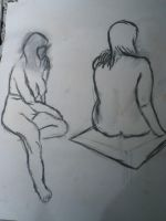 Life Drawing: Numero Uno by TheLamadude
