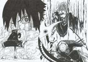 Anime Mix Bleach X Naruto X One Piece by NeXusShawn