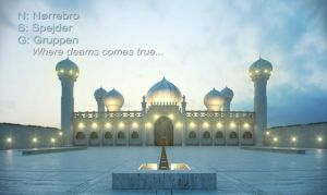 Poster Card of Masjid by Dday007