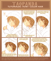 Tutorial: How i color hair by Shuruya