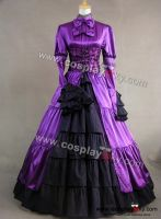 Victorian-Corset-Lolita-Dress-Ball-Gown-Prom by PoliceGirlSerasV