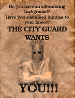 Just a skyrim recruitment poster by AirScorp