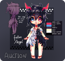 [AUCTION] HALLOWEEN ADOPTABLE [CLOSED] by nechin