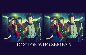 Doctor Who Series 5 Wallpaper by razerblade-10