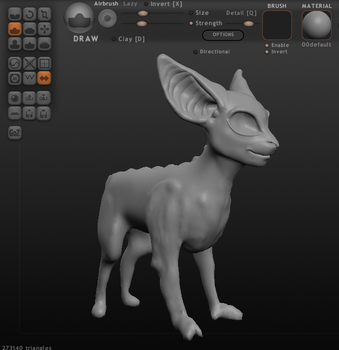 Puck in 3D (WIP) by RchlisNomSome