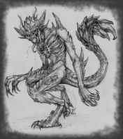 Commission - Daemon's Form by Baals-Baby