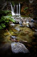 Upper Crystal Creek Falls II by FreeSpiritFotography