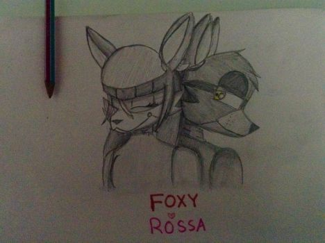Foxy x Rossa by coolgirlfactor