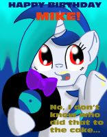 Request: Happy Birthday Mike! by SilvatheBrony