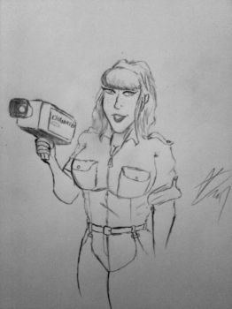 April O'neil month 2: Camera rolling by Deadfish-Comics