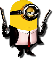 Minion The  Hitman by kingwicked