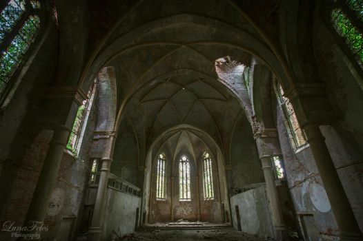 Church N - lost holiness by LunaFeles