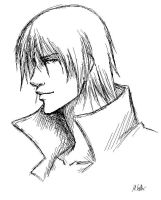 Dante sketch by Mih4ru-Chan