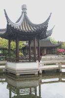 Chinese Gardens II by KelbelleStock