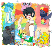 PokemonRainbow-Q24-Dress up your Pokemon by Magicalcat