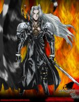 One Winged Angel- Sephiroth by Barrin84