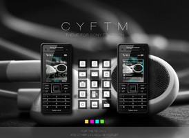 CYFTM Sony Ericsson Theme by Leuchtstoff