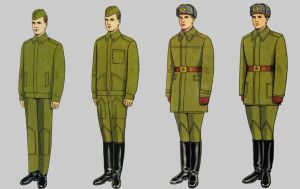 Soviet Army Uniforms 50 by Peterhoff3