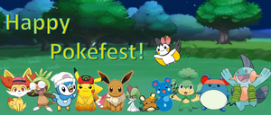 Happy Pokefest! by AdvanceArcy