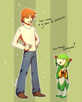 Chris and Cosmo: You're so tall by Cheroy