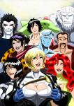 Power Girl and some other people... by adamantis