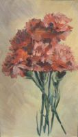 Flowers Carnations by Luybashka