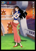 Nico Robin by MrPowers20