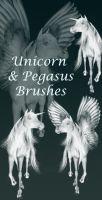 Unicorn-Pegasus brush-abr by JulieLangford