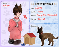 [Happy-Tails] - Niko Machida by miu-city