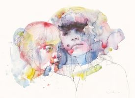 looking for you in my own color wave by agnes-cecile