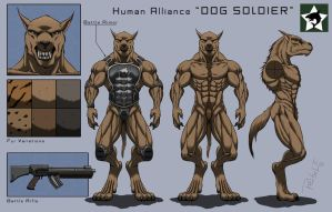 Character-Sheet: DOG SOLDIER by ReptileCynrik