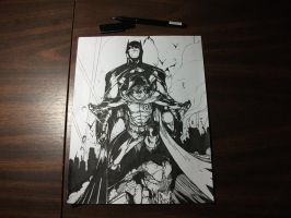 The Dynamic Duo - Hand Inking by J-Skipper